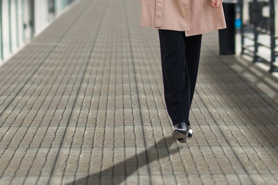 """Тротуарная плитка Бавария """"Серая прямая"""""""