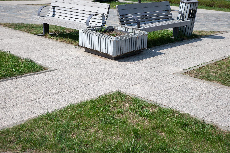Тротуарная плитка Гранит и мрамор