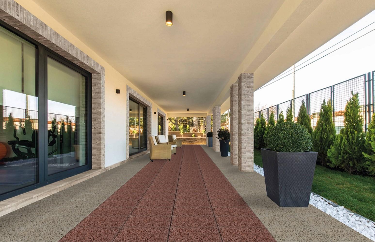Тротуарная плитка Гранит и мрамор: Эльба+Парма